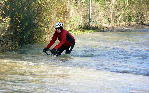 cycling-flood